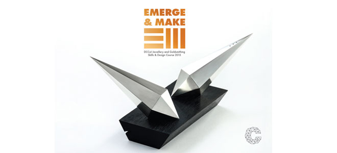 Emerge & Make: Exhibition of work from the 2015 graduates of the Design & Crafts Council of Ireland