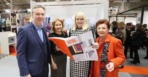 Minister Mitchell O'Connor officially opens Showcase - Ireland's International Creative Expo