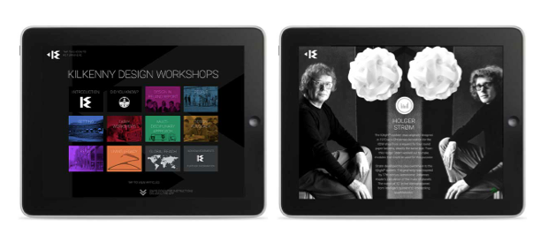 Kilkenny Design Workshops 50th anniversary celebrated with interactive iPad app